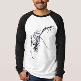 """Grobes Muse """"bionisches 1"""" Raglan Lang-Hülse T-Shirt"""