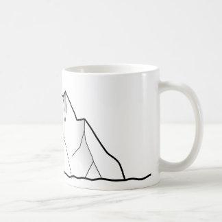 Grönland-Eisberg Kaffeetasse