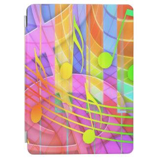 Groovy musikalisches abstraktes iPad air hülle