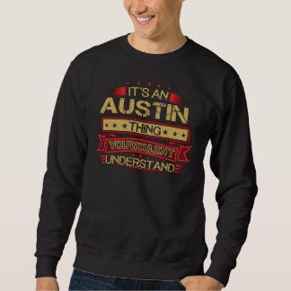 Groß, AUSTIN-T-Shirt zu sein Sweatshirt