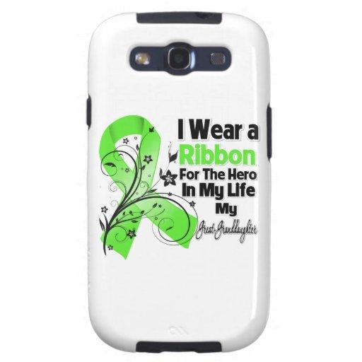 Groß - Enkelin Held in meinem Leben-Lymphom Samsung Galaxy S3 Etui