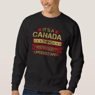 Groß, KANADA-T-Shirt zu sein Sweatshirt