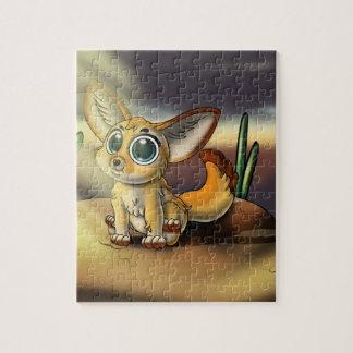 Groß-Mit Augen Puzzlespiel Fennec Fox-Süsse-8x10