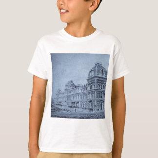 Großartige Sammelstelle circa 1890s Vintages NYC T-Shirt