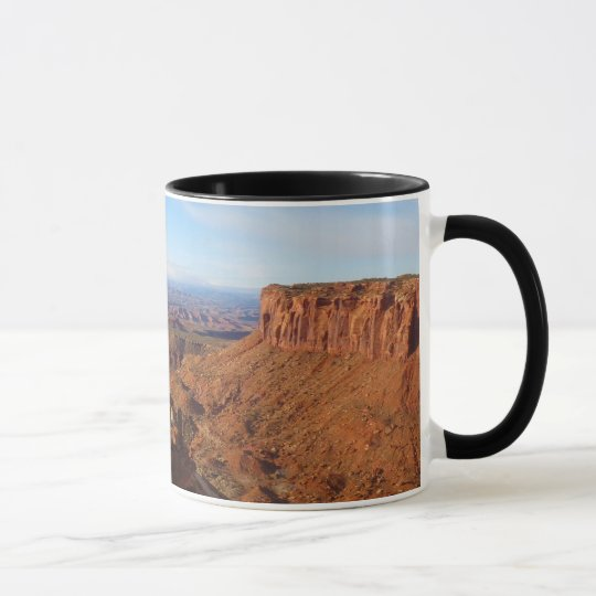 Großartiger Standpunkt an Canyonlands Nationalpark Tasse