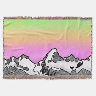 Großartiger Teton Berg Wyoming Decke