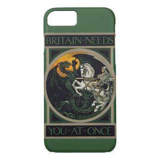 Großbritannien benötigt Sie sofort zu adeln u. iPhone 8/7 Hülle