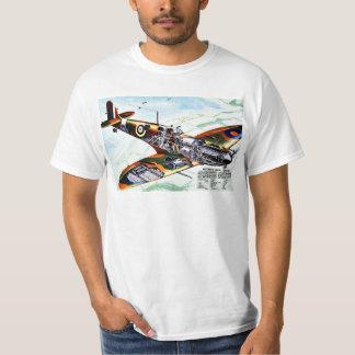 Großbritanniens neuer Spitfire T-Shirt