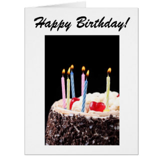 Große alles- Gute zum Geburtstagkarte Riesige Grußkarte