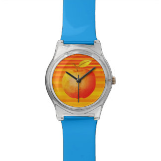 Große Apple-Cartoon-vibrierende Uhr