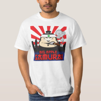 Große Apple-Samurais T-Shirt