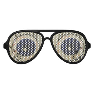 Große Augen-Sonnenbrille 2 Unisex Piloten Sonnenbrillen