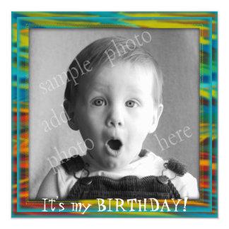 Große der Geburtstags-Party Einladung des