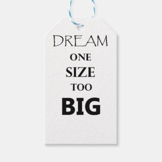 Größe des Traums einer Geschenkanhänger