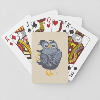 Große Eulen-Spielkarten Spielkarten