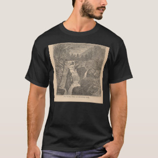 Große Fälle, nahe Wilmington-Durchlauf (hohe T-Shirt