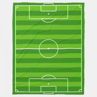 Große Fußball-Feld-/Fußball-Neigungs-Fleece-Decke Fleecedecke