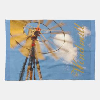 Große Geschirrtuch-Wyoming-Windmühle Geschirrtuch