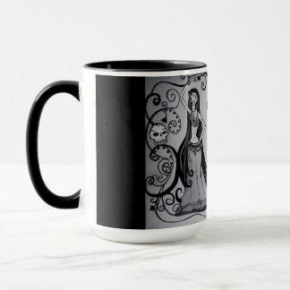 Große gotische Bauchtänzerin-Tasse Tasse