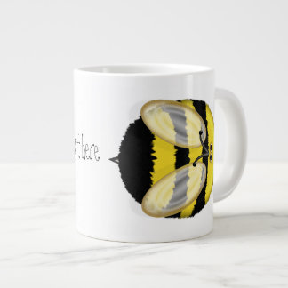 Große Hummel-Bienen-personalisierte riesige Tasse Extragroße Tasse