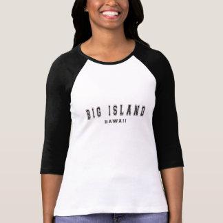 Große Insel Hawaii T-Shirt