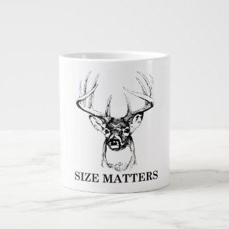 Größe ist riesige Tasse von Bedeutung Jumbo-Tasse