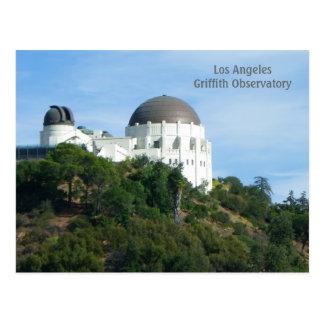 Große LA Griffith-Observatorium-Postkarte! Postkarte