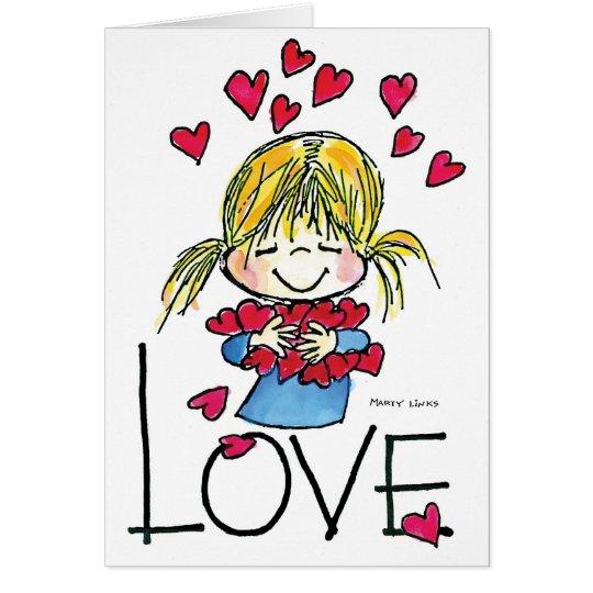Große Liebe FL-004 Grußkarte