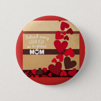Große Mamma Runder Button 5,7 Cm