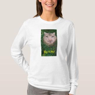 Große Miezekatze T-Shirt