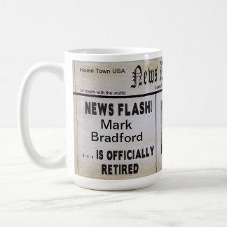 Große Nachrichten-Papier-Ruhestands-Tasse - Kaffeetasse