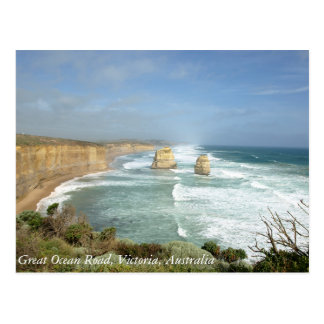 Große Ozean-Straße, Victoria, Australien Postkarte
