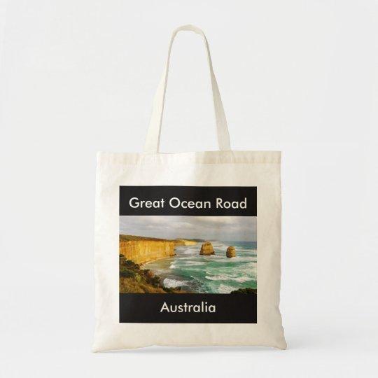 Große Ozean-Straßen-Australien-Tasche Budget Stoffbeutel