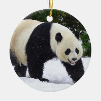 Große Pandas Smithsonian | im Schnee Keramik Ornament
