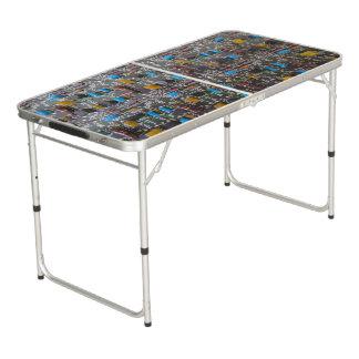 Größe Pong Tabelle der Heckklappen-Circuit1 Beer Pong Tisch