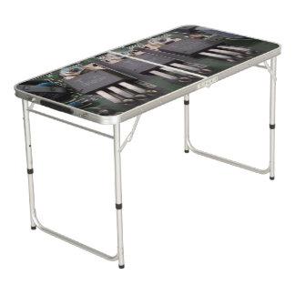 Größe Pong Tabelle der Heckklappen-Circuit2 Beer Pong Tisch