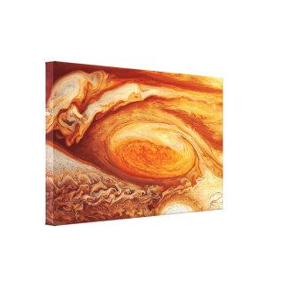 """""""Große rote Stelle"""" Jupiters 24x16 Leinwand-Kunst Leinwanddruck"""