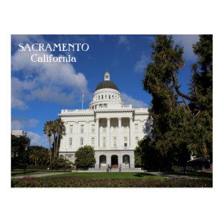 Große Sacramento-Postkarte! Postkarte