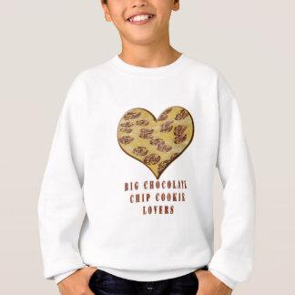 Große Schokoladensplitter-Plätzchen-Liebhaber Sweatshirt