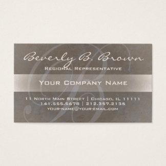 Große schöne elegante Namenskarten des Buchstabe-B Visitenkarten