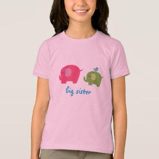 Große Schwester-Elefant-Shirt T-Shirt