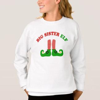 Große Schwester-Elf Sweatshirt
