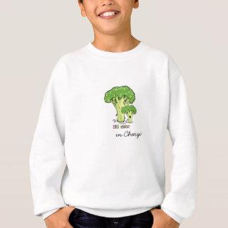 Große Schwester - kleiner Geschwisterbrokkoli Sweatshirt