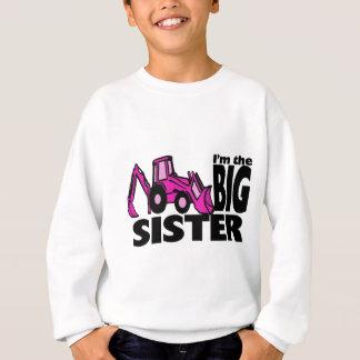 Große Schwester-Löffelbagger Sweatshirt