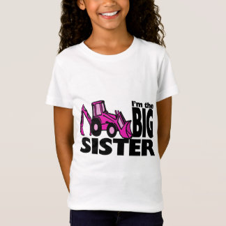 Große Schwester-Löffelbagger T-Shirt