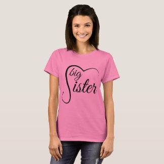 Große Schwester-T-Shirt T-Shirt