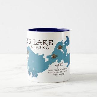 Große See-Kabinen-Tasse für unsere Freunde Zweifarbige Tasse