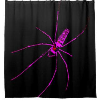 Große Spinne Duschvorhang