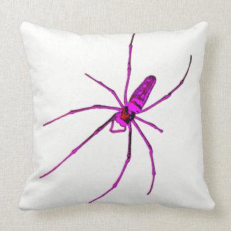 Große Spinne Kissen