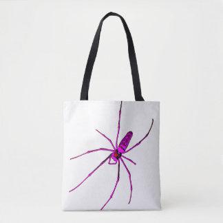 Große Spinne Tasche